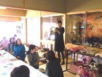 12/3 しめ飾り 講師のシェルムーン早季子さん