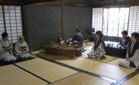 煎茶会・今坂社中のお茶席