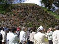 名護屋城 石垣の説明