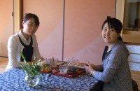 工芸茶を楽しまれたお客さま